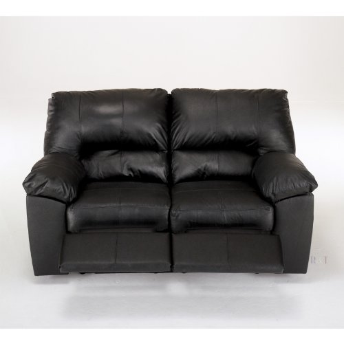 Buy Low Price AtHomeMart Black Reclining Loveseat (ASLY2600086)