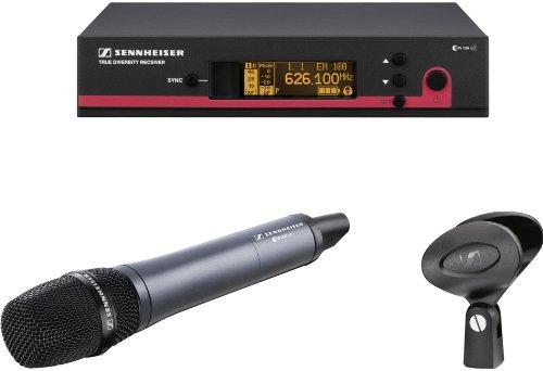Sennheiser Ew 145 G3 Wireless Handheld Microphone System Uhf Evolution G3 100 Series 566-608 Mhz
