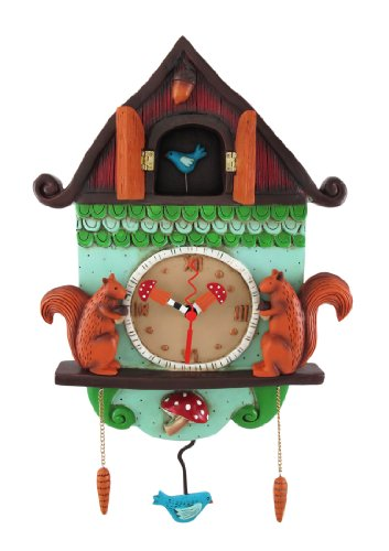 `Cuckoo Bird` Wall Mounted Pendulum Clock