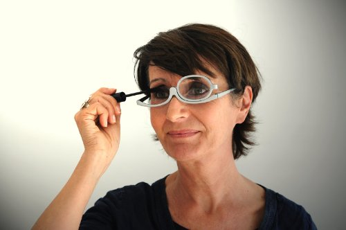 Grey / Black Magnifying Makeup Glasses