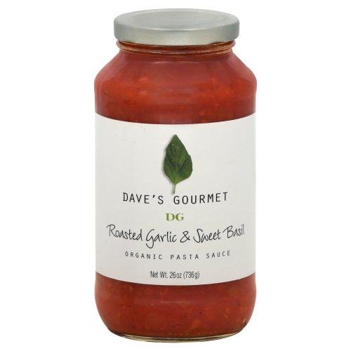 DAVES GOURMET SAUCE PSTA RSTD GRLC SWT, 25.5 OZ (Daves Gourmet Pasta Sauce compare prices)