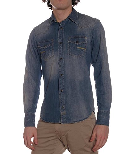 Camicia Jeans Meltin Pot Carey M, Variante unica MainApps