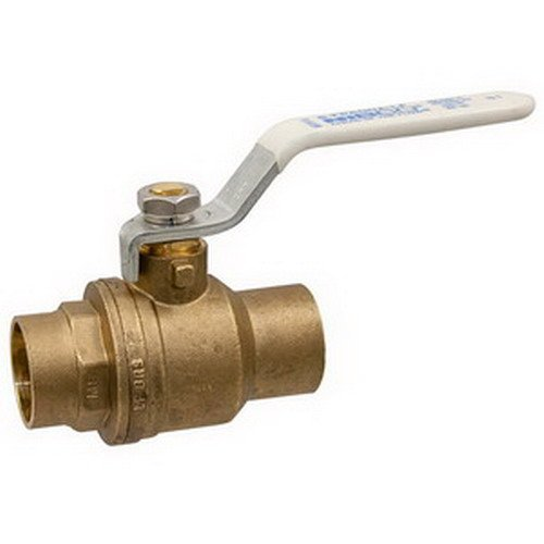 Nibco Ball Valve C X C 1-1/4 In., Lead Free