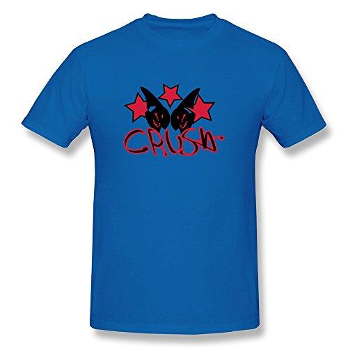 Design Sharks Crush Funny O-Neck Man'S T Shirt front-608445