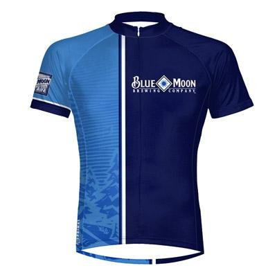 Primal Wear Men's Blue Moon Night Short Sleeve Cycling Jersey - COBNJ20M
