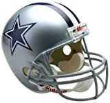 NFL Dallas Cowboys Deluxe Replica Football Helmet