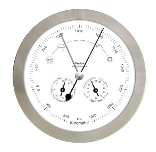 fischer-1602-01-weather-station-for-inside-and-outside-thermometer-hygrometer-barometer-stainless-st