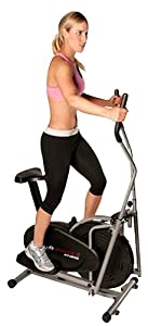 Confidence Fitness 2-in-1 Elliptical Trainer with Seat from Confidence Fitness