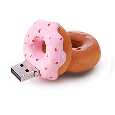 Strawberry Donut 2GB USB Flash Drive from JellyFlash