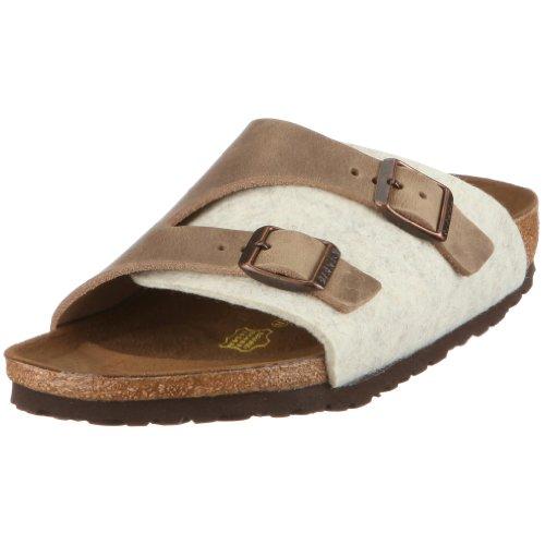 Birkenstock Unisex Zuerich 250331 Beige/Tabacco Slides Sandal 3 UK 36 EU