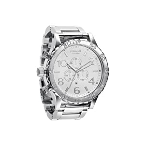 NIXON Men's NXA083488 Chronograph Dial Watch