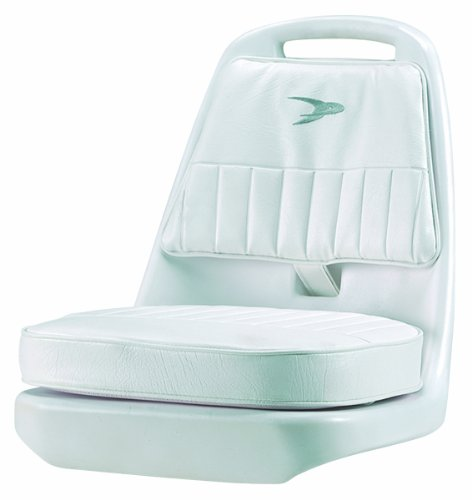 Wise 8WD013-3-710 Standard Pilot Chair with Cushions and Mounting Plate, White