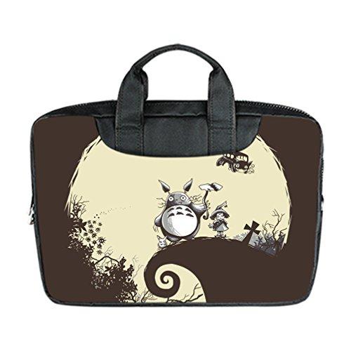 DONGMEN Best Halloween Presents Totoro Designed Laptop Bags Nylon Waterproof 15 Inch Laptop Shoulder Bags(Twin (Reddit Halloween Costume)