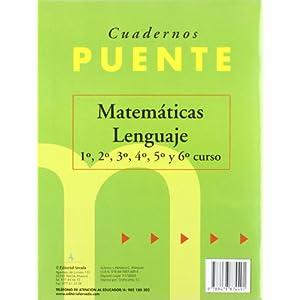 Cuaderno De Matemáticas. Puente 1er Curso Primari