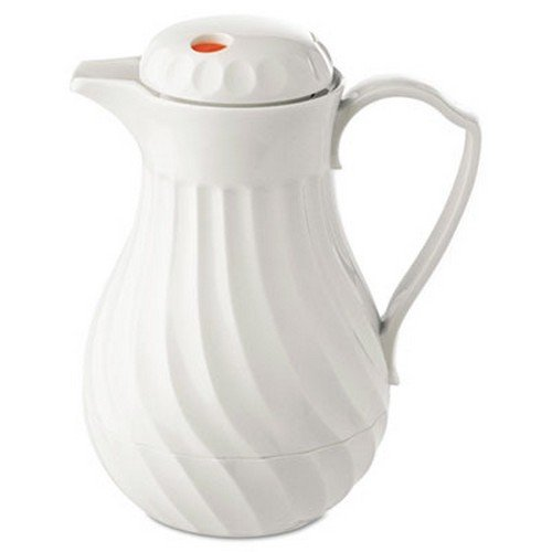 poly-lined-carafe-swirl-design-40-oz-capacity-white