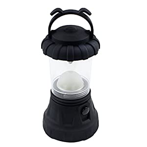 Umiwe(TM) 11 LED Portable Outdoor Camping Lanterns Light with Battery Operated(Black) With Umiwe Accessory Peeler