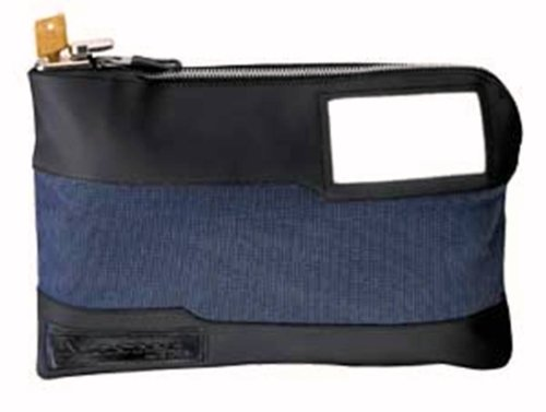 Master Lock 7120D Locking Security Bag, Blue, 10″ x 8-5/8″ x 1-7/8″