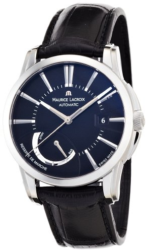 Maurice Lacroix Men's PT6168-SS001331 Pontos Pontos Black Dial Watch