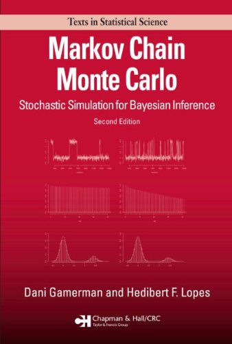 Markov Chain Monte Carlo: Stochastic Simulation for Bayesian Inference (Chapman & Hall/CRC Texts in Statistical Science)