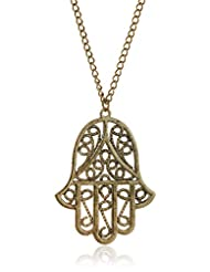 Style Fiesta Chain Necklace For Women (Golden) (JN297)
