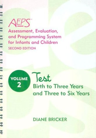 Assessment, Evaluation, and Programming System for...