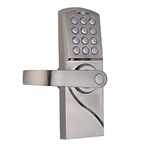 Digital Electronic Security Entry Door Lock Left Handle (Camper Door Entry Lock compare prices)