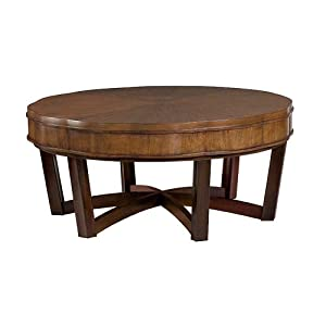Hammary miramar round cocktail table coffee for Coffee tables amazon