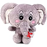 Shopsmeade Cute Elephant Soft Toys 30 Cm | Kids Girls Boys Child Toys | Gifts For Boyfriend Girlfriend Fiance Spouse Friends Him Her Men Girl Birthday Anniversary Everyday Gift Soft Toys | Plush Toys | Animal Soft Toys