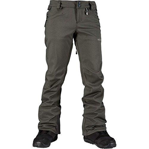 Volcom Species Stretch Snowboard Pants Brushed Nickel Womens Sz L