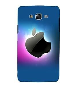 printtech Apple Back Case Cover for Samsung Galaxy J1 / Samsung Galaxy J1 J100F
