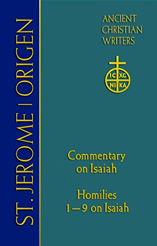 St. Jerome: Commentary on Isaiah (Ancient Christian Writers)
