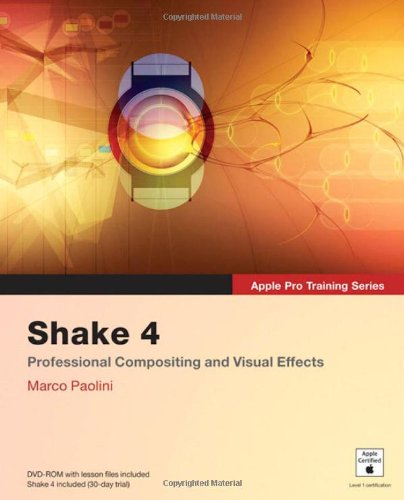 Apple Pro Training Series: Shake 4