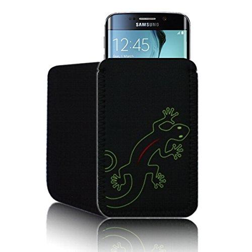 Custodia neoprene 'Geco' per Samsung GALAXY S6 EDGE resistente agli urti a bustina