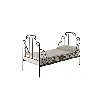 Sofá cama Rol doble - Naranja caroteno, Somier con medidas de 90x200 cm.
