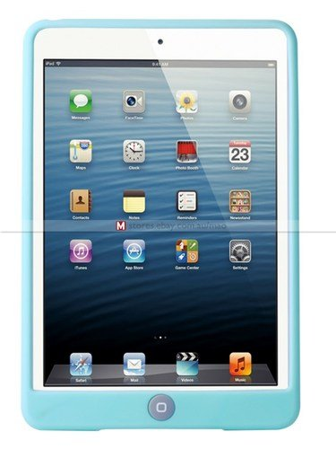 Ipad Mini Glow In The Dark Protective Case (Blue - Mini)