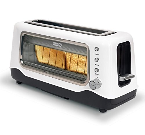 White Clear View Toaster (Toaster Russell Hobbs compare prices)
