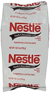 Nestle Hot Cocoa Mix, Dark Chocolate, 1.75-pounds (Pack of 3)