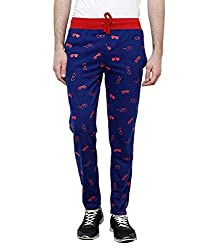 Crux&hunter Men's Trackpant (AMZ_ZJ_104_Blue_36)