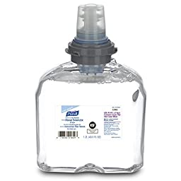 PURELL 6393-02 E3 Rated Instant Hand Sanitizer, 1200 mL Foam Refill (Case of 2)