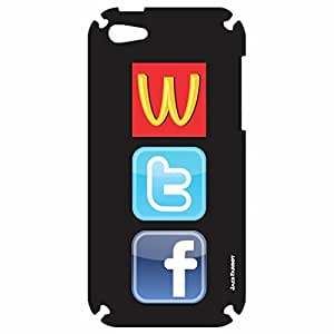 Jack Parrot Mobile Skin WTF 038 for Apple iPhone 5C
