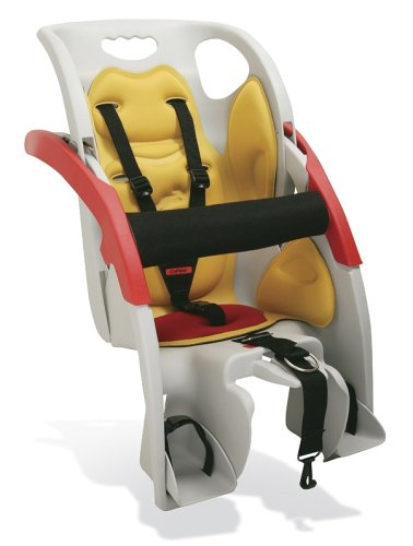Co-Pilot Kids Limo Child Seat - Grey/Yellow/Red, 18 Kg