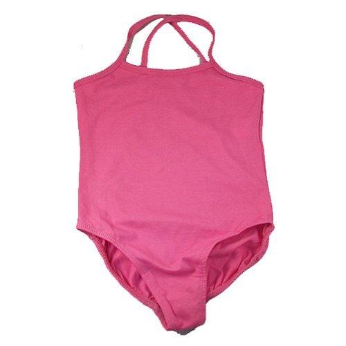 reflectionz Little Girls Hot Pink Sleeveless Ballet Dance Gymnastics Leotard 2-8