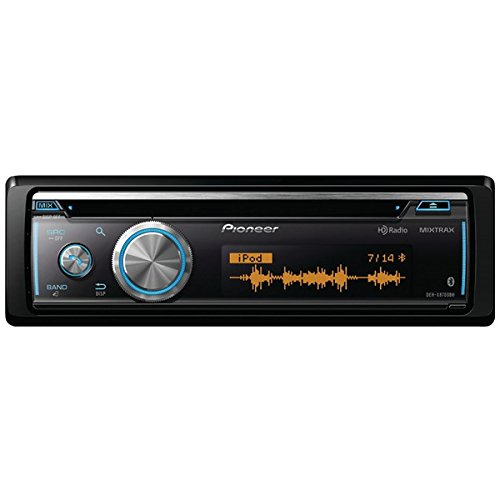 Pioneer DEH-X8700BH - CD Receiver with Full Dot LCD Display, Bluetooth, HD Radio, Siri Eyes Free, USB Playback, Android Music Support, and Pandora