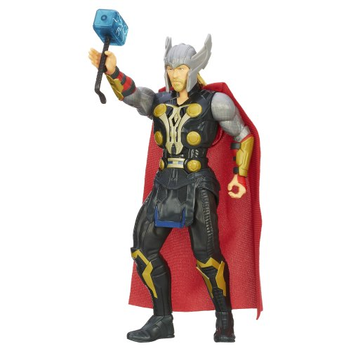 Marvel Thor The Dark World Hammer Launch Thor Figure - 1
