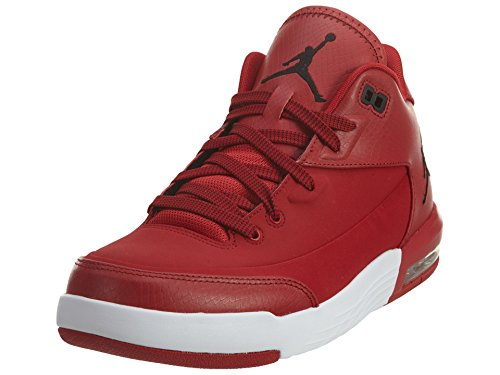 Nike Jordan Men's Jordan Flight Origin 3 Gym Red/Black/White/Black Basketball Shoe 10 Men US (Black Red White Jordans compare prices)