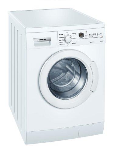 Siemens iQ300 WM14E326 Waschmaschine Frontlader / A+++ / 1400 UpM / 6 kg / Weiß / Super 15 / Schaumerkennnung