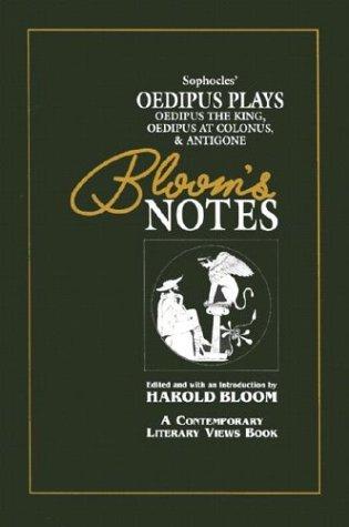 Sophocles' Oedipus Plays (Bn) (Oop) (Bloom's Notes)