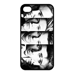 Male Band One Direction Silicone Rubber Telephone Cas Coquille for Iphone 4 4S