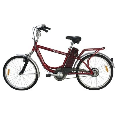 Image of Yukon Trails Men's Navigator Urban Street Electric Bike (24-Inch) (MS-EBLAM24)