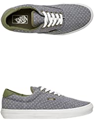 VANS Unisex ERA 59 Skate / Casual Sneaker Shoes (Chambray Dots)GRN/INSGNB M11.5